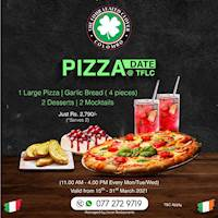 Enjoy your favourite pizza at The Four Leafed Clover