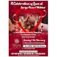 Valentines Dinner Buffet at Suriya Resort