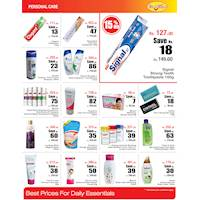 Up to 25% off on Personal care items at Cargills Food City – Page 12
