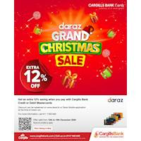 Get an extra 12% saving when you pay with Cargills Bank Credit or Debit Mastercards