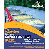 Lunch Buffet at Hotel Clarion