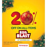 20% off on All Items at Fashion Bug