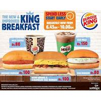 The New and Improved King Breakfast at Burger King Sri Lanka