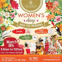 Women's Day High Tea Morning at GRANDEEZA