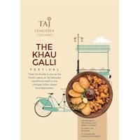 Come and experience The Khau Galli at Taj Samudra