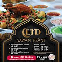 EID Sawan Feast at Ramada Colombo