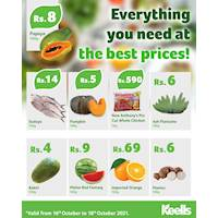 Get the freshest fruits and vegetables safely delivered to your doorstep for the best prices through Keells Online