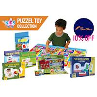 10% Off Panther's EDUCATIONAL TOY COLLECTIONAL at Kidsexpress.lk