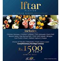 Iftar Platter at Indian Summer Restaurant!