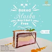 Baked Alaska - Buy 2 get 1 free at La Rose Blanc