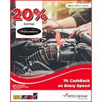 Save 20% on Full Service Labour Charges at Pro Auto Care with DFCC Credit Card!