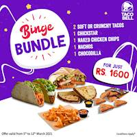 Grab yourself a Binge Bundle at Taco Bell