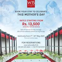 Rs 13,500 double on Bed & breakfast basis.