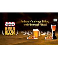 Friday with Beer and Bites at TGI Fridays