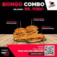 Bongo Combo at Royal Burger