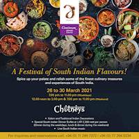 A Festival of South Indian Flavours at Cinnamon Grand