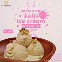 Kulfi Ice Cream - Buy 2 Get 1 free at La Rose Blanc