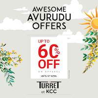 Shop at Turret at the Kandy City Centre this season, choose from a wide range of International brands to suit your style with discounts of UpTo 60%!