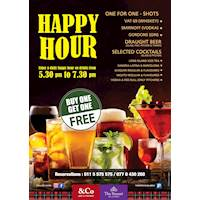 HAPPY HOUR at The Steuart by Citrus - Co Pub and Kitchen