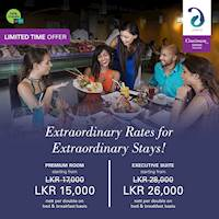 Extraordinary Rates for Extraordinary Stays at Cinnamon Grand