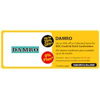 Up to 20% Off on selected items for BOC credit and debit cards at Damro