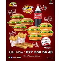 Burger Mania at Panini HotBun