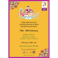 Jaffna Festival is back at Cinnamon Grand Colombo