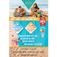 DON'T MISS THIS AMAZING DEALS UP TO 60% OFF at Brizo Weligama