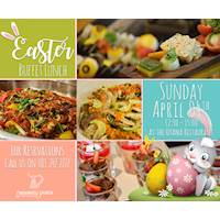Easter buffet lunch at Mahaweli Reach hotel