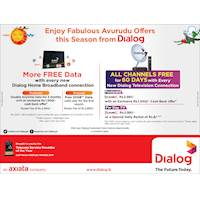 Enjoy fabulous Avurudu Offers this Season from Dialog
