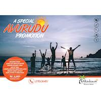 A Special AVURUDU Day Outing Promotion for ONLY 2250 LKR NET per person