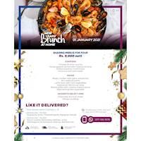 New years Brunch - Sharing menus for four Rs. 9,000 nett at Hilton Colombo Residence
