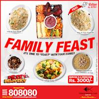 Family Feast (Rs. 3000/ For 4) at Chinese Dragon Cafe!!!