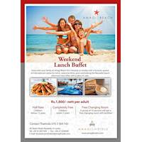 Weekend Lunch Buffet at Amagi Hotels