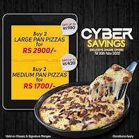November Cyber Savings at Pizza Hut