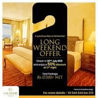 Long weekend offer at Galadari Hotel