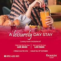 A leisurely day stay at Ramada Colombo