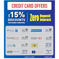 Credit Card Offers at Damro