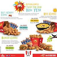 KFC Avurudu Combos
