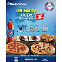 November Pizza Fiesta at Domino's Pizza