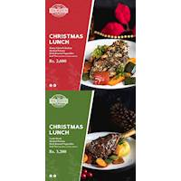 Special Christmas Lunch Packages from Tea Avenue