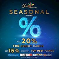 Get up to 20% Discount at Indian Summer For Selected Credit and Debit Cards