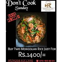 Fabulous Mongolian Rice