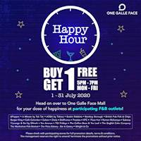 Happy Hour at One Galle Face