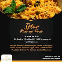 Iftar Pick-up Pack Galadari Hotel