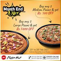Month End Offer at PIzza Hut