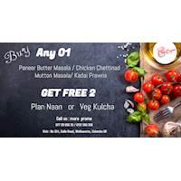 BUY 01 GET 02 Free at The Chef Ceylon