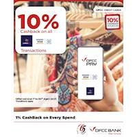 Enjoy 10% cashback on QR transactions through the DFCC Pay App!