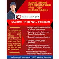 Planning, Designing, Executing and Maintaining of all types of Electrical Projects