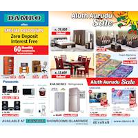 Aluth Aurudu Sale at Damro